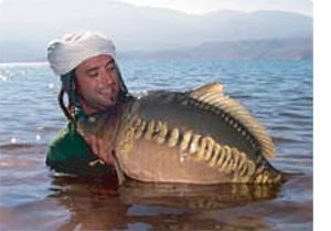 Lake Bin el Ouidane - a mecca for carp fishermen!